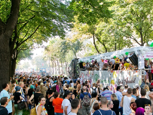 Vienna Summerbreak Festival - Streetparade - your key to vienna´s nightlife